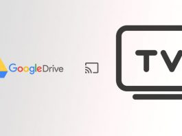 cast-Google Drive on chromecast