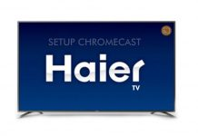 Cast on Haier TV