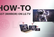 How to Cast (Mirror) your device on LG TV
