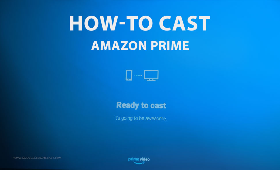 cast amazon prime on tv