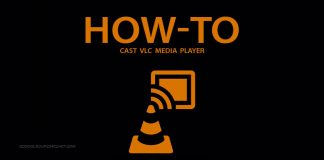 how to cast VLC Medai Player