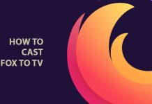 Cast firefox to TV