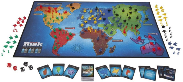 Risk Global Domination(Board Games)