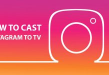 how to cast Instagram to TV