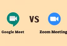 Google Meet vs Zoom Meetings