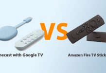 Chromecast with Google TV vs Amazon Fire TV Stick Lite
