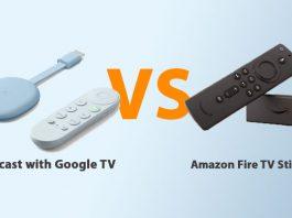 Chromecast with Google TV vs Amazon Fire TV Stick Lite