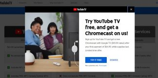 YouTube TV Chromecast offer