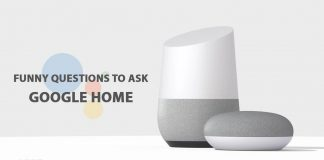 funny questions to ask Google Home