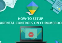 setup parental-controls on Chromebook