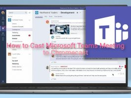 How to Cast Microsoft Teams Meeting to Chromecast