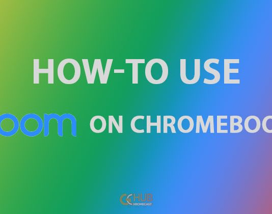 How to use zoom on Chromecast