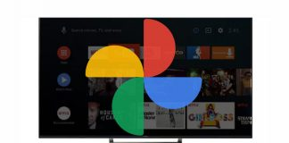 Google Photos as screensaver on Google TV