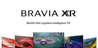Sony Bravia XR with Google TV