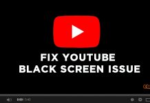 fix youtube black screen