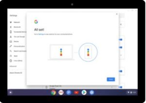 Chrome OS Phone Set Up