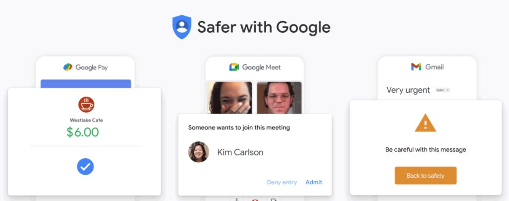 Get safer with Google