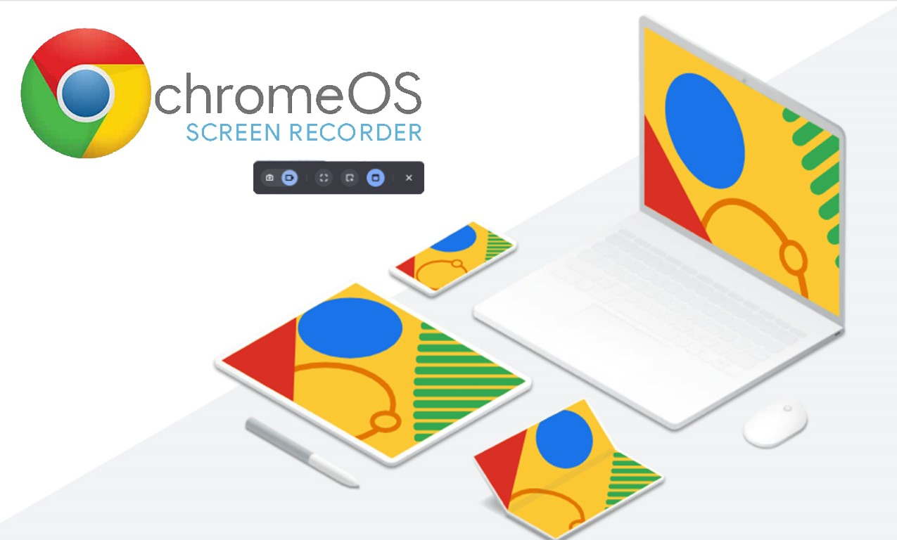 chromeos inbuilt screen recorder