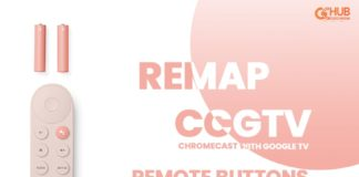 remap chroemcast with google tv controller button-min