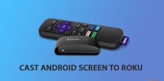 Cast Android to Roku