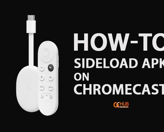 How to sideload apk on Chromecast with Google TV