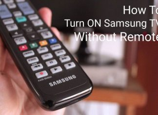 How To Turn ON Samsung TV Without a Remote