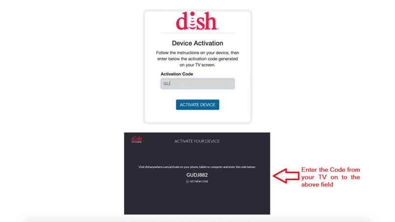 How to Activate Dish Anywhere