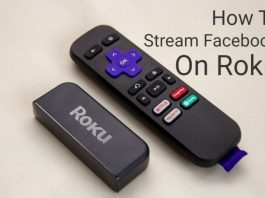 How To Stream Facebook on Roku