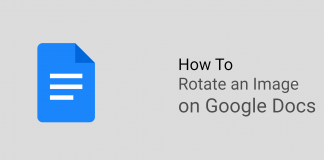 How To Rotate an Image in Google Docs