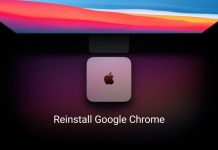 Reinstall Google Chrome on Mac
