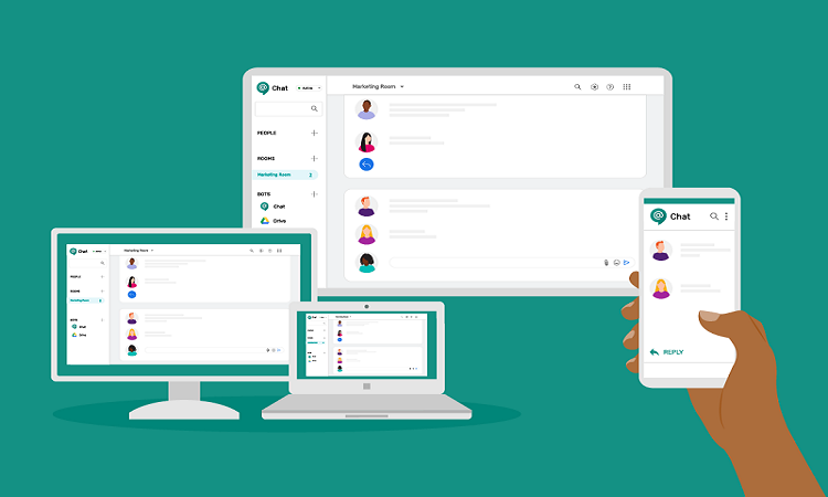 Workspace Update Google Chat UI gets a Facelift
