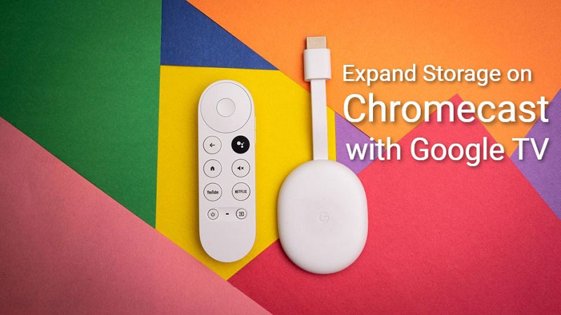 How To Expand Storage on Chromecast with Google TV