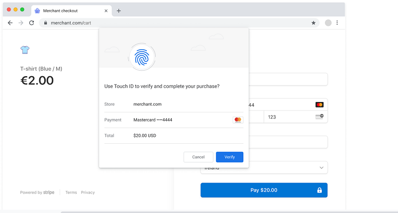 Chrome 95 beta rollout - Secure Payment Confirmation